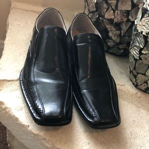 Madden black loafers size 13